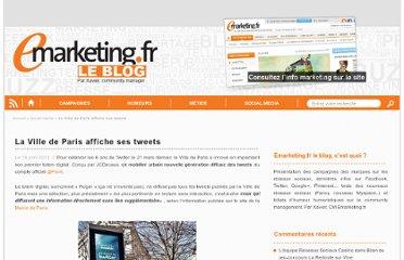 http://blog.e-marketing.fr/la-ville-de-paris-affiche-ses-tweets/