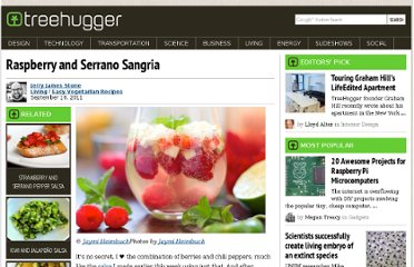 http://www.treehugger.com/easy-vegetarian-recipes/raspberry-and-serrano-sangria.html