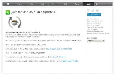 http://support.apple.com/downloads/Java_for_Mac_OS_X_10_5_Update_4