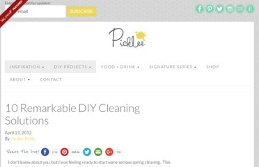 http://www.picklee.com/2012/04/13/10-remarkable-diy-cleaning-solutions/#.T4jsfdXnHQI