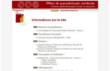 http://www.parasitologie.uhp-nancy.fr/index.php?mode=infos
