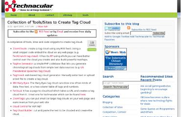 http://www.technacular.com/2007/04/22/collection-of-toolssites-to-create-tag-cloud/
