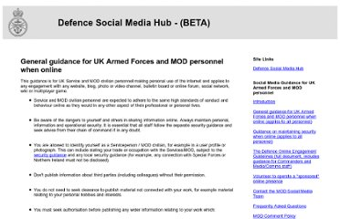 http://www.blogs.mod.uk/general-guidance.html