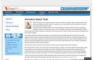 http://content.easybib.com/2012/04/18/alternative-search-tools/