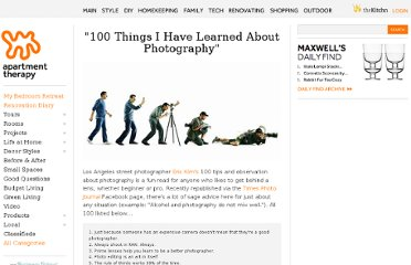http://www.apartmenttherapy.com/100-things-i-have-learned-about-photography-169386