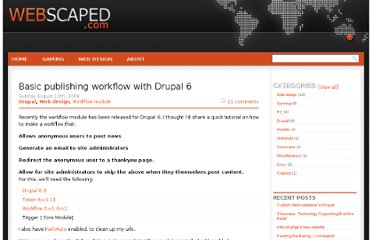 http://www.webscaped.com/articles/2008/08/basic-publishing-workflow-with-drupal-6/