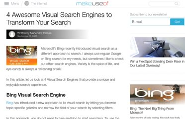 http://www.makeuseof.com/tag/4-awesome-visual-search-engines-to-transform-your-search/