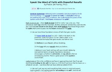 http://www.jimfeeney.org/speak-word-of-faith.html