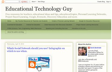 http://educationaltechnologyguy.blogspot.com/2012/04/which-social-network-should-you-use.html