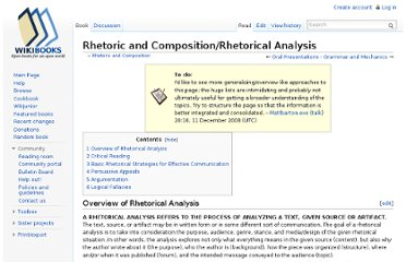 http://en.wikibooks.org/wiki/Rhetoric_and_Composition/Rhetorical_Analysis