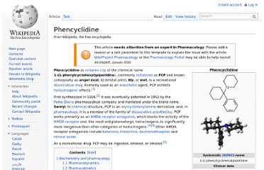 http://en.wikipedia.org/wiki/Phencyclidine#Recreational_use