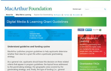 http://www.macfound.org/info-grantseekers/grantmaking-guidelines/learning-grant-guidelines/