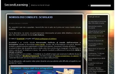 http://www.secondlearning.it/nonsolosecondlife-scuola3d/