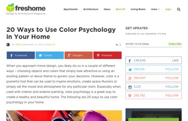 http://freshome.com/2010/09/08/20-ways-to-use-color-psychology-in-your-home/
