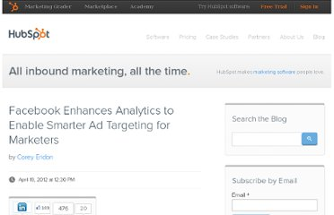 http://blog.hubspot.com/blog/tabid/6307/bid/32456/Facebook-Enhances-Analytics-to-Enable-Smarter-Ad-Targeting-for-Marketers.aspx