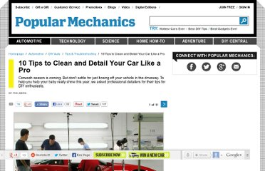 http://www.popularmechanics.com/cars/how-to/repair/10-tips-to-clean-and-detail-your-car-like-a-pro#slide-1