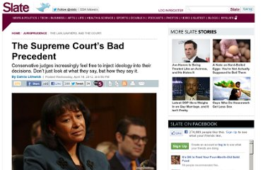 http://www.slate.com/articles/news_and_politics/jurisprudence/2012/04/judge_janice_rogers_brown_wants_to_return_to_the_libertarian_legal_notions_of_the_1930s_.html