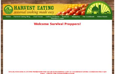 https://www.harvesteating.com/public/Welcome_Survival_Pordcast_Preppers.cfm