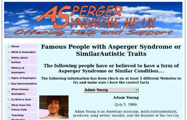 http://www.asperger-syndrome.me.uk/people.htm