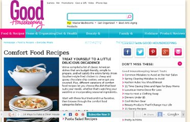 http://www.goodhousekeeping.com/recipes/everyday-meals/best-comfort-food-recipes