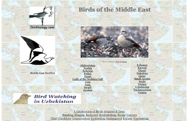 http://www.ornithology.com/Checklist/middleeast.html