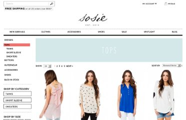 http://www.shopsosie.com/tops.html?limit=all