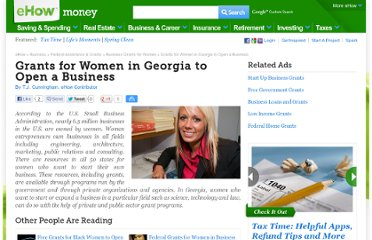 http://www.ehow.com/list_6658593_grants-women-georgia-open-business.html