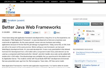 http://java.dzone.com/news/better-java-web-frameworks
