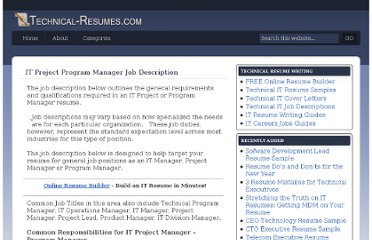 http://www.technical-resumes.com/it-project-program-manager-job-description/