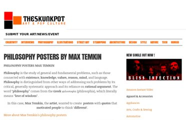 http://theskunkpot.com/index.php/philosophy-posters-by-max-temkin/