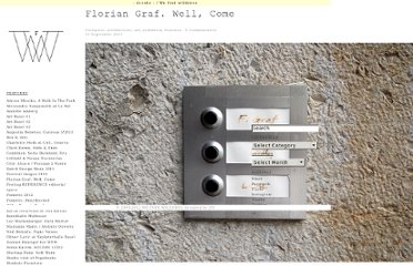http://www.we-find-wildness.com/2011/09/florian-graf-well-come/