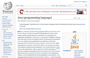 http://en.wikipedia.org/wiki/Java_%28programming_language%29