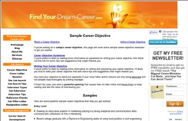http://www.find-your-dream-career.com/sample-career-objective.html