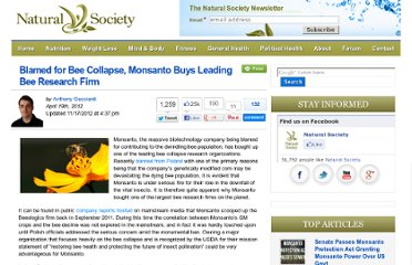 http://naturalsociety.com/monsanto-bee-collapse-buys-bee-research-firm/