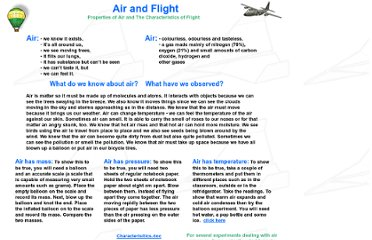 http://www.mysciencesite.com/science6airflight1.html