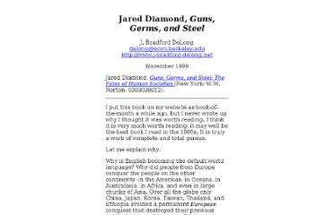 http://www.j-bradford-delong.net/Econ_Articles/Reviews/diamond_guns.html