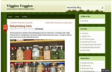 http://viggiesveggies.wordpress.com/2012/03/07/dehydrating-intro/