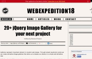http://webexpedition18.com/articles/20-jquery-image-gallery-for-your-next-project/