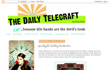 http://www.thedailytelecraft.com/2011/07/spotlight-ashley-bickerton.html