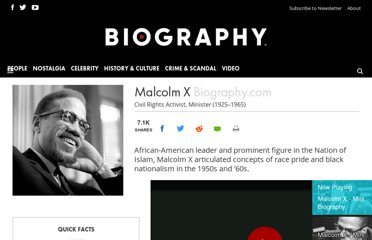http://www.biography.com/people/malcolm-x-9396195