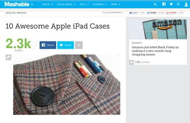 http://mashable.com/2010/04/05/ipad-cases/