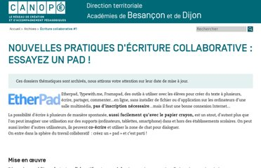 http://www.cndp.fr/crdp-besancon/index.php?id=ecriture-collaborative