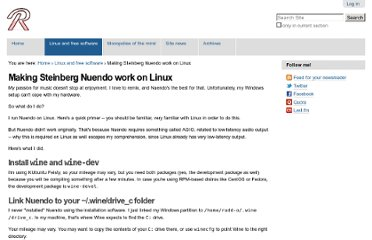 http://rudd-o.com/linux-and-free-software/making-steinberg-nuendo-work-on-linux