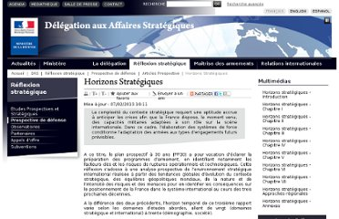 http://www.defense.gouv.fr/das/reflexion-strategique/prospective-de-defense/articles-prospective/horizons-strategiques#.T5HDTNiRUO0.facebook