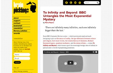 http://www.brainpickings.org/index.php/2012/04/20/to-infinity-and-beyond-bbc-horizon/