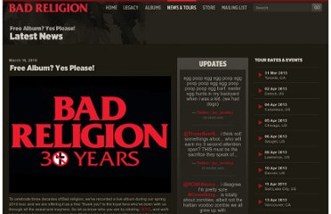 http://www.badreligion.com/news/index/id/6/Free_CD_Yes_Please/