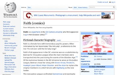 http://en.wikipedia.org/wiki/Faith_(comics)