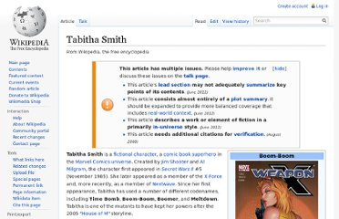http://en.wikipedia.org/wiki/Tabitha_Smith