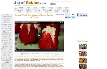 http://joyofbaking.com/StrawberriesFilledCream.html