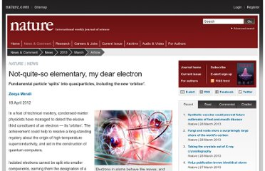 http://www.nature.com/news/not-quite-so-elementary-my-dear-electron-1.10471?WT.mc_id=FBK_NPG